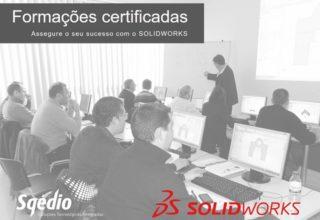 Formação certificada SOLIDWORKS – março a julho