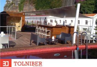 """Tolniber cria """"sombra"""" para o Hotel Pestana CR7 Funchal"""