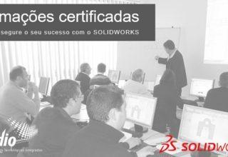 Formação certificada SOLIDWORKS – julho a dezembro