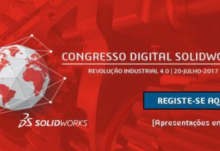 Congresso Digital SOLIDWORKS – Indústria 4.0 – Online e gratuito