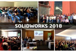 Sqédio apresentou SOLIDWORKS 2018 em outubro