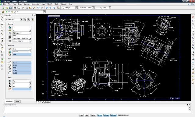 solidworks-draftsight-2d