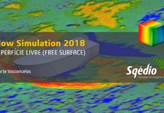 Como simular a onda criada por um barco no Flow Simulation 2018