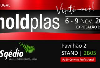 Visite a Sqédio na feira MoldPlás na ExpoSalão