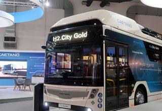 CaetanoBus apresenta autocarro a hidrogénio