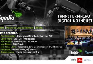 """A 2ª edição Sqédio i4.0 centrou-se sobre a """"Transformação Digital na Indústria"""""""