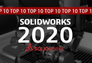 10 excelentes razões para trabalhar com o SOLIDWORKS 2020