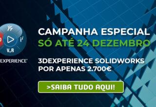 Campanha especial Dezembro 3DEXPERIENCE SOLIDWORKS