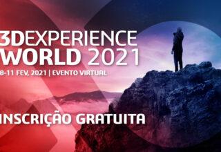 3DEXPERIENCE WORLD 2021 | 8-11 fevereiro – virtual e gratuito