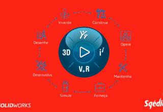 Porquê o SOLIDWORKS e não outros softwares CAD 3D?